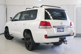 2011 Toyota Landcruiser UZJ200R MY10 Altitude White 5 Speed Sports Automatic Wagon.
