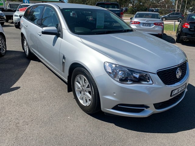 Used Holden Commodore VF MY15 Evoke Sportwagon, 2015 Holden Commodore VF MY15 Evoke Sportwagon Silver 6 Speed Sports Automatic Wagon