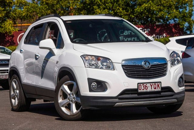 Used Holden Trax TJ MY17 LTZ, 2016 Holden Trax TJ MY17 LTZ White 6 Speed Automatic Wagon