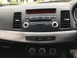 2010 Mitsubishi Lancer CJ MY10 ES 6 Speed Constant Variable Sedan