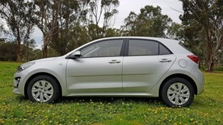 2020 Kia Rio YB MY21 S Silky Silver 6 Speed Automatic Hatchback