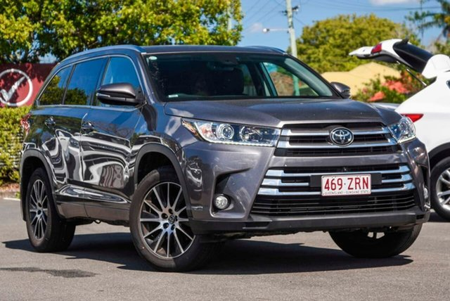 Used Toyota Kluger GSU55R Grande AWD, 2018 Toyota Kluger GSU55R Grande AWD Grey 8 Speed Sports Automatic Wagon