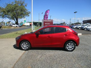 2015 Mazda 2 DJ2HA6 Neo SKYACTIV-MT Red 6 Speed Manual Hatchback.