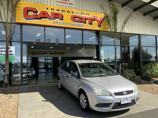 Used Ford Focus LT 08 Upgrade CL Traralgon, 2008 Ford Focus LT 08 Upgrade CL Silver 5 Speed Manual Hatchback