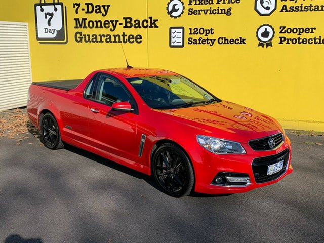Used Holden Ute VF MY14 SS V Ute Redline, 2014 Holden Ute VF MY14 SS V Ute Redline Red 6 Speed Sports Automatic Utility