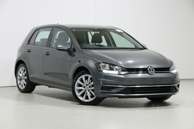 Used Volkswagen Golf AU MY18 110 TSI Comfortline, 2017 Volkswagen Golf AU MY18 110 TSI Comfortline Grey 7 Speed Auto Direct Shift Hatchback