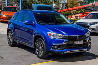 2016 Mitsubishi ASX XB MY15.5 LS 2WD Lightning Blue 6 Speed Constant Variable Wagon.