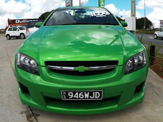2007 Holden Commodore VE SV6 Green 5 Speed Auto Active Select Utility.