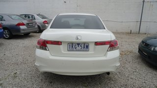 2008 Honda Accord 8th Gen VTi White 5 Speed Sports Automatic Sedan