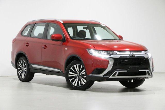 Used Mitsubishi Outlander ZL MY19 ES 7 Seat (AWD), 2019 Mitsubishi Outlander ZL MY19 ES 7 Seat (AWD) Red Continuous Variable Wagon