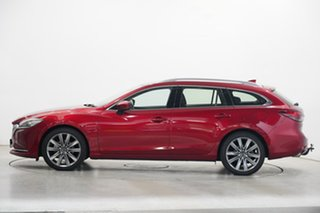 2019 Mazda 6 GL1033 GT SKYACTIV-Drive Red 6 Speed Sports Automatic Wagon.
