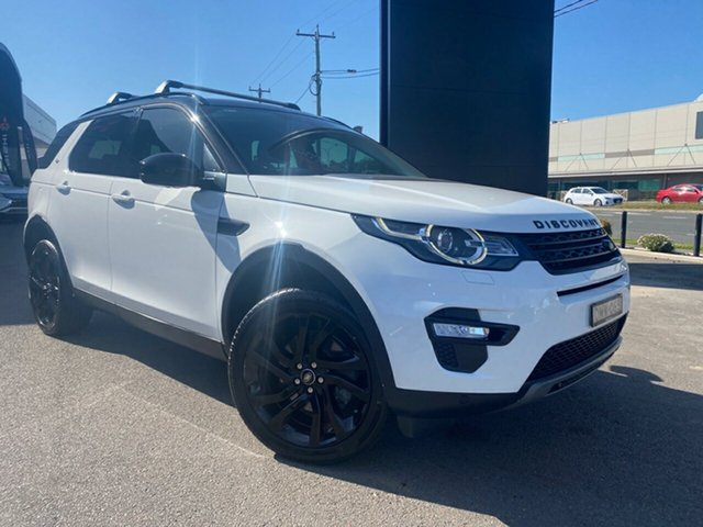 Used Land Rover Discovery Sport L550 17MY TD4 180 HSE, 2016 Land Rover Discovery Sport L550 17MY TD4 180 HSE White 9 Speed Sports Automatic Wagon
