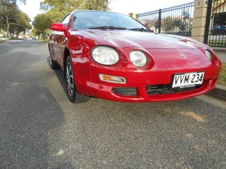 1996 Toyota Celica ST204R SX Red 4 Speed Automatic Liftback.