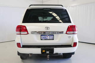 2011 Toyota Landcruiser UZJ200R MY10 Altitude White 5 Speed Sports Automatic Wagon
