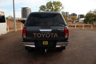 2017 Toyota Hilux GUN126R SR5 Double Cab Graphite 6 Speed Automatic Dual Cab