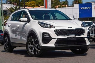 2019 Kia Sportage QL MY20 S 2WD White 6 Speed Sports Automatic Wagon.