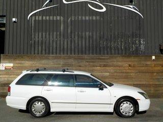 2003 Mitsubishi Magna TL ES White 4 Speed Automatic Wagon.