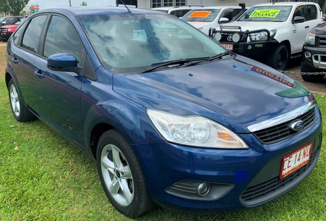 Used Ford Focus LV LX, 2010 Ford Focus LV LX Blue 4 Speed Sports Automatic Hatchback