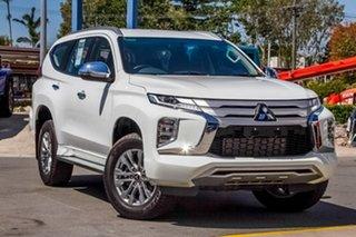 2019 Mitsubishi Pajero Sport QF MY20 GLX White 8 Speed Sports Automatic Wagon.