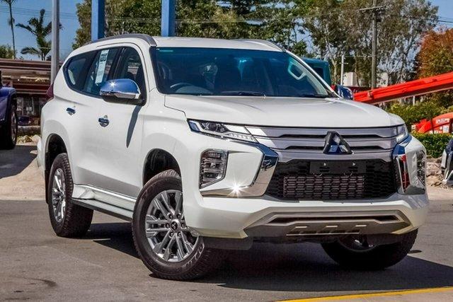 Used Mitsubishi Pajero Sport QF MY20 GLX, 2019 Mitsubishi Pajero Sport QF MY20 GLX White 8 Speed Sports Automatic Wagon