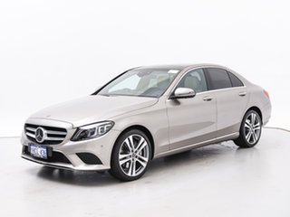 2019 Mercedes-Benz C300 205 MY19 Silver 9 Speed Automatic G-Tronic Sedan.