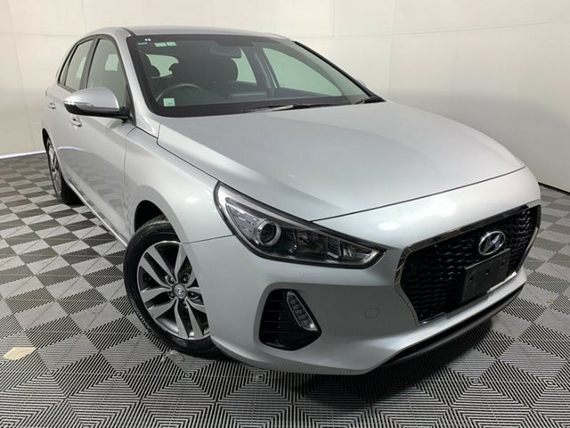 Used Hyundai i30 PD MY18 Active Wayville, 2018 Hyundai i30 PD MY18 Active Silver 6 Speed Sports Automatic Hatchback