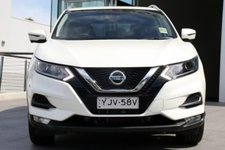 2020 Nissan Qashqai J11 Series 3 MY20 ST-L X-tronic Ivory Pearl 1 Speed Constant Variable Wagon.