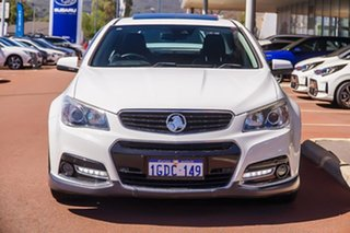 2013 Holden Commodore VF MY14 SS V Redline White 6 Speed Sports Automatic Sedan.
