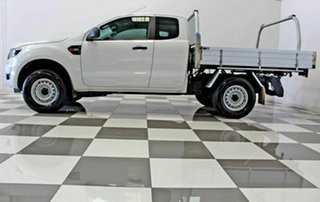 2017 Ford Ranger PX MkII MY18 XL 2.2 Hi-Rider (4x2) White 6 Speed Automatic Super Cab Chassis