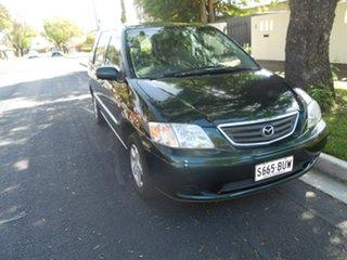 2001 Mazda MPV LW10G1 Green 4 Speed Automatic Wagon.
