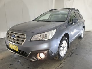 2016 Subaru Outback B6A MY17 2.0D CVT AWD Grey 7 Speed Constant Variable Wagon.