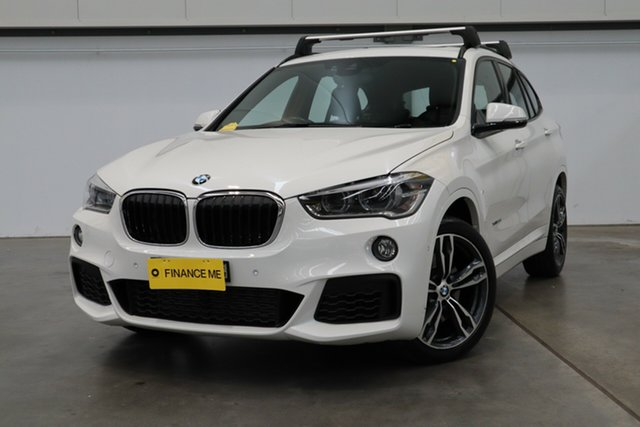 Used BMW X1 F48 MY17 xDrive 25I, 2017 BMW X1 F48 MY17 xDrive 25I White 8 Speed Automatic Wagon