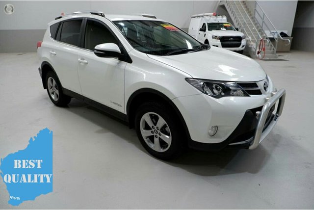 Used Toyota RAV4 ALA49R GXL AWD, 2015 Toyota RAV4 ALA49R GXL AWD White 6 Speed Sports Automatic Wagon