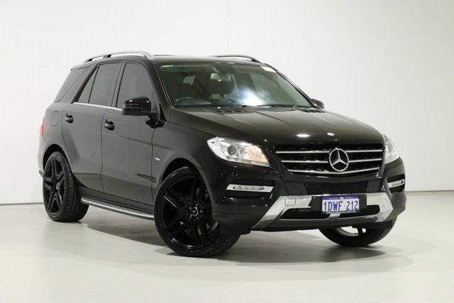 Used Mercedes-Benz ML250 CDI BlueTEC 166 4x4, 2012 Mercedes-Benz ML250 CDI BlueTEC 166 4x4 Black 7 Speed Automatic Wagon