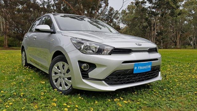 Demo Kia Rio YB MY21 S Nuriootpa, 2020 Kia Rio YB MY21 S Silky Silver 6 Speed Automatic Hatchback