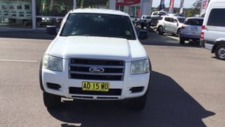 2007 Ford Ranger PJ XL Crew Cab 4x2 Hi-Rider White 5 Speed Manual Double Cab Pick Up