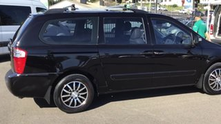 2010 Kia Grand Carnival VQ MY11 SLi Black 6 Speed Sports Automatic Wagon