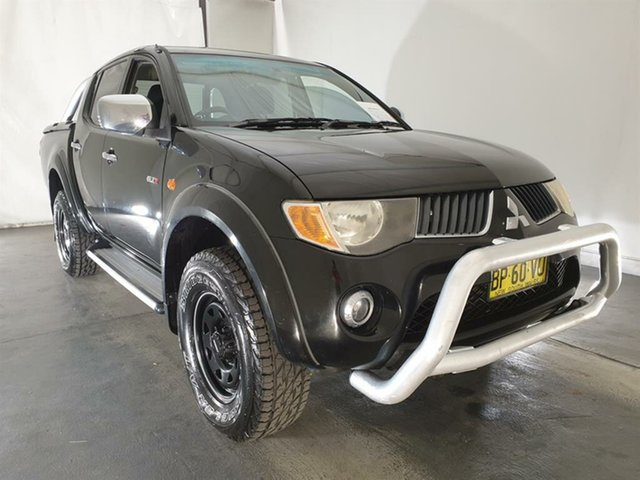 Used Mitsubishi Triton ML MY07 GLX-R Double Cab, 2006 Mitsubishi Triton ML MY07 GLX-R Double Cab Black 5 Speed Manual Utility