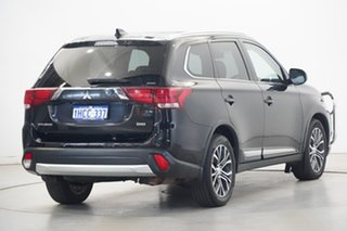 2016 Mitsubishi Outlander ZK MY17 LS 4WD Safety Pack Black 6 Speed Sports Automatic Wagon