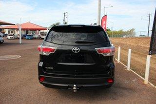 2015 Toyota Kluger GSU50R GX 2WD Eclipse Black 6 Speed Automatic Wagon