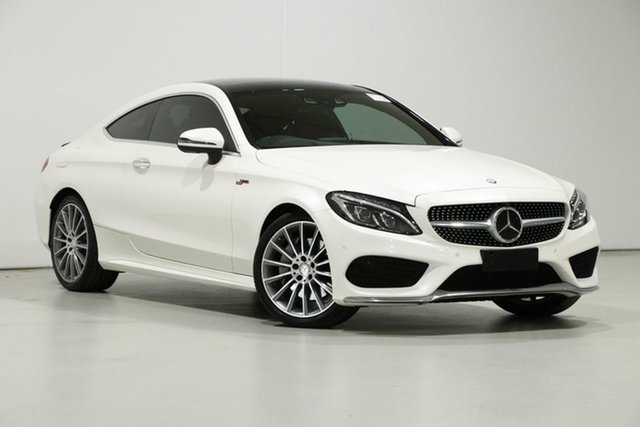 Used Mercedes-Benz C250 205 MY17 D, 2016 Mercedes-Benz C250 205 MY17 D White 9 Speed Automatic G-Tronic Coupe