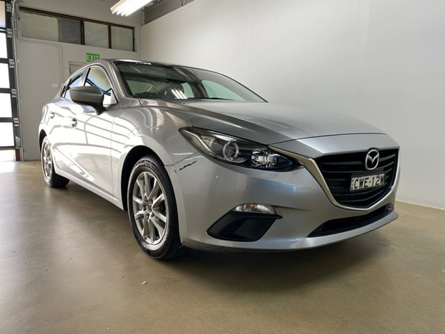 Used Mazda 3 BM Maxx Phillip, 2014 Mazda 3 BM Maxx Grey 6 Speed Automatic Sedan
