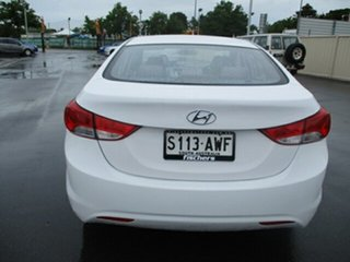 2012 Hyundai Elantra MD2 Active White 6 Speed Manual Sedan