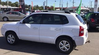 2009 Hyundai Tucson JM MY09 City SX White 4 Speed Sports Automatic Wagon