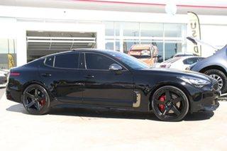 2018 Kia Stinger CK MY18 GT Fastback Aurora Black 8 Speed Sports Automatic Sedan.