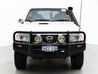 2016 Nissan Patrol GU Series 10 ST (4x4) Legend Edition White 4 Speed Automatic Wagon