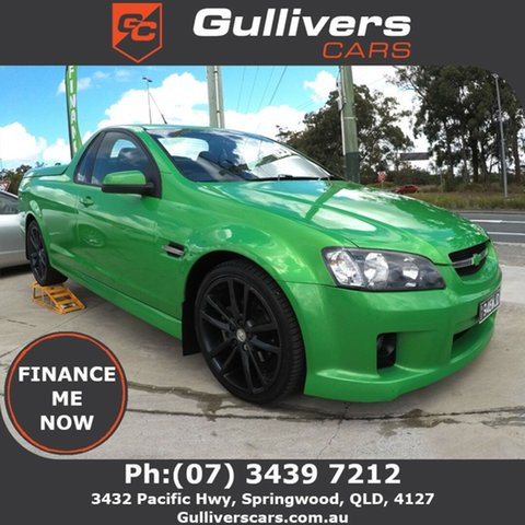 Used Holden Commodore VE SV6, 2007 Holden Commodore VE SV6 Green 5 Speed Auto Active Select Utility