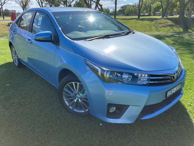 Used Toyota Corolla ZRE172R ZR S-CVT, 2014 Toyota Corolla ZRE172R ZR S-CVT Blue Mist 7 Speed Constant Variable Sedan