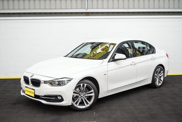 Used BMW 3 Series F30 LCI 318i Sport Line Canning Vale, 2016 BMW 3 Series F30 LCI 318i Sport Line White 8 Speed Sports Automatic Sedan