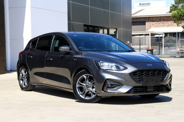 Used Ford Focus SA 2019.25MY ST-Line, 2019 Ford Focus SA 2019.25MY ST-Line Grey 8 Speed Automatic Hatchback
